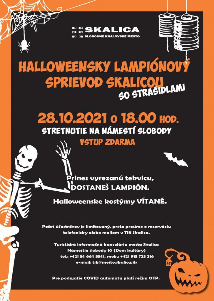 Halloweensky lampiónový sprievod 1